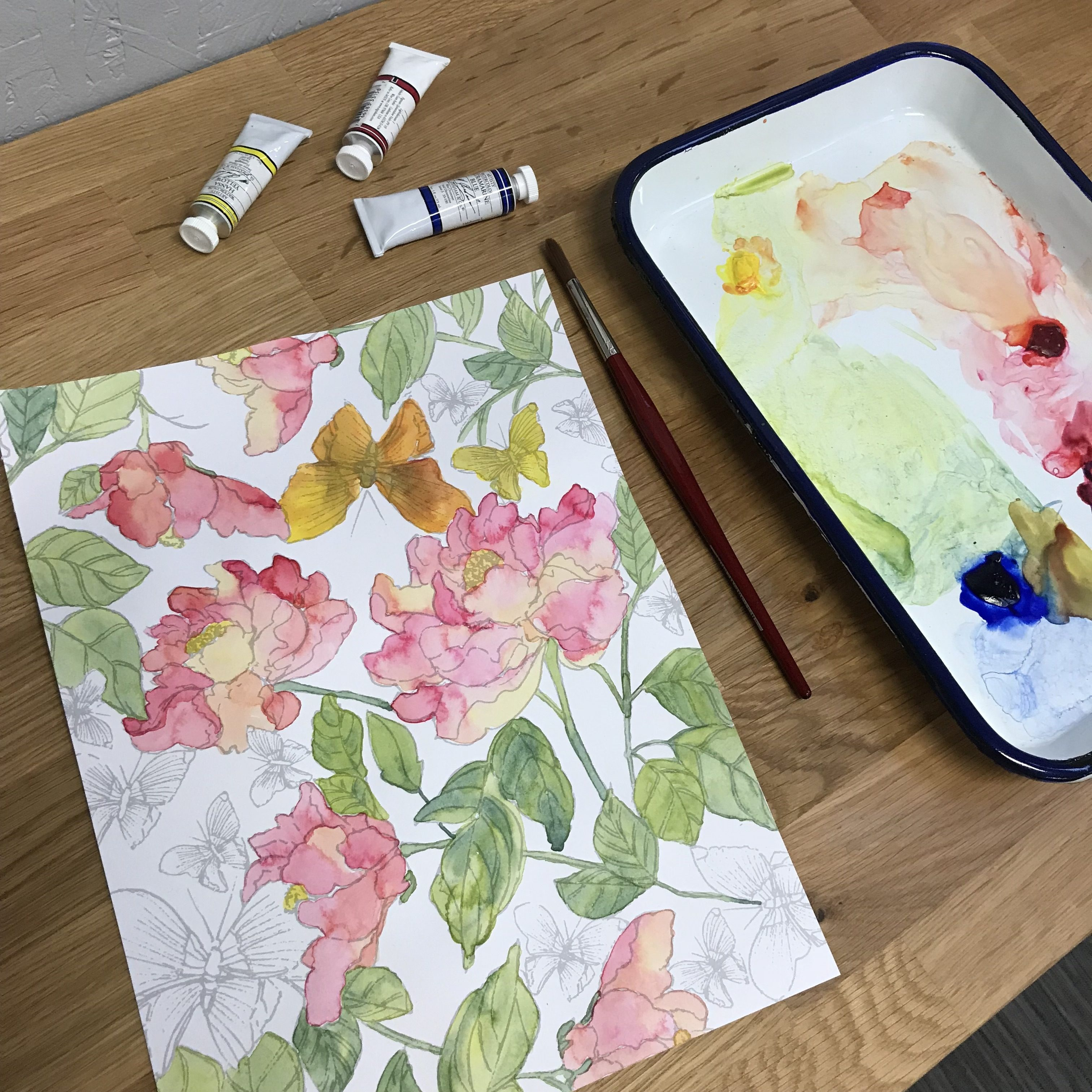 Watercolor Workshops at Assembly PDX