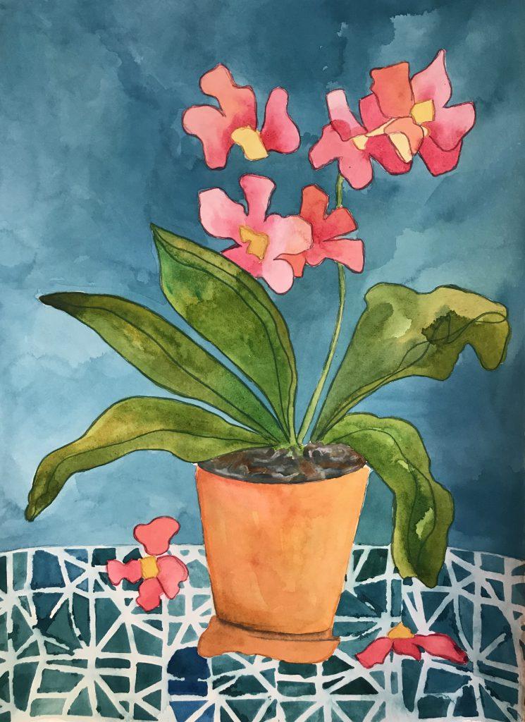 Fallen Orchid
