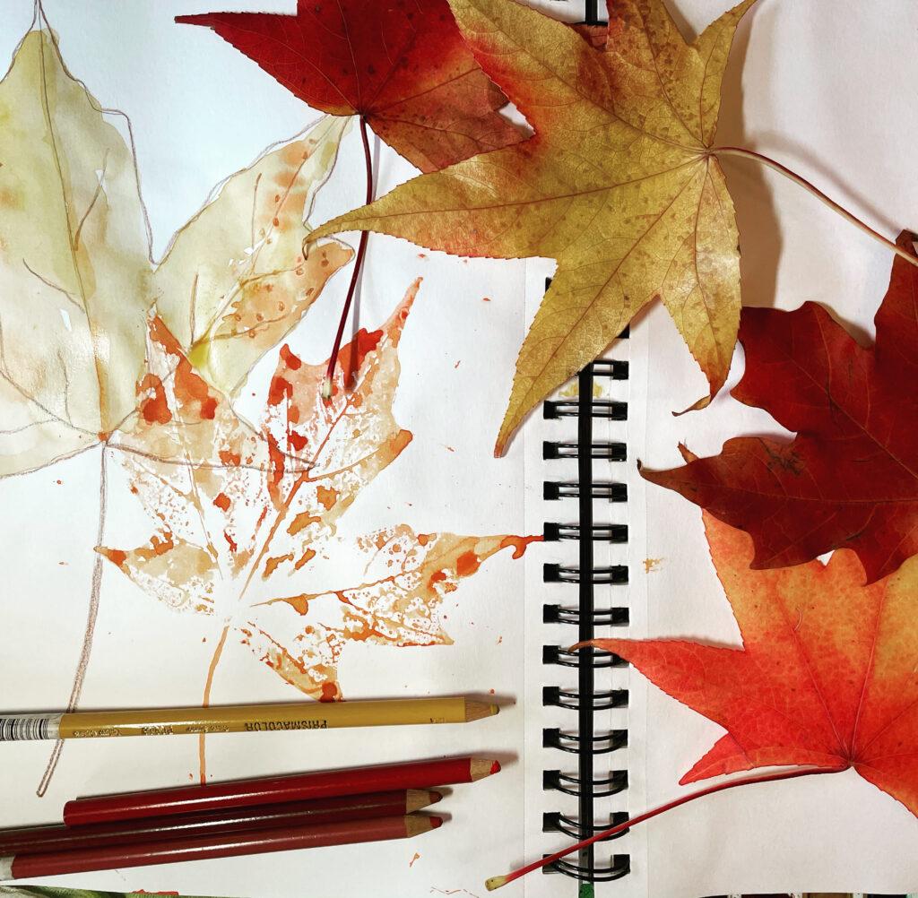 FallLeaves_WatercolorNatureJournaling