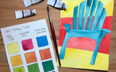JANUARY: Watercolor for the Very Beginner (Zoom Class)